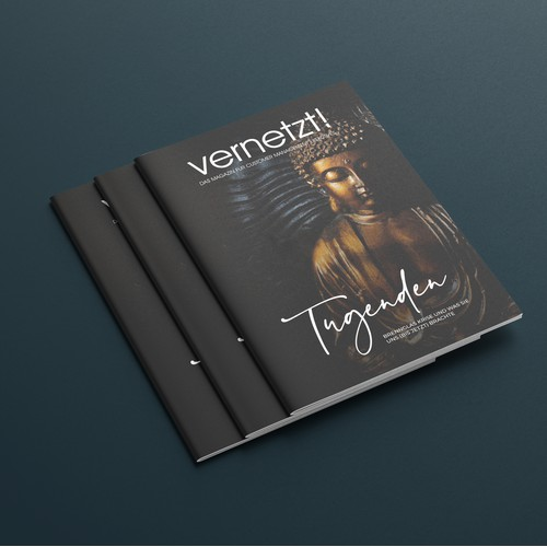 Magazine cover concept for Vernetzt!