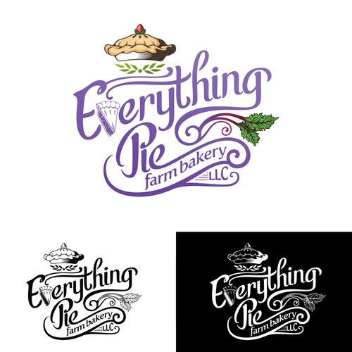 Everything Pie LLC Logo Design