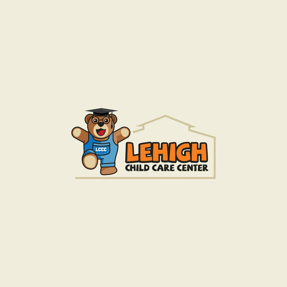 Create a Teddy Bear Logo for a leading Child Care Center in Florida