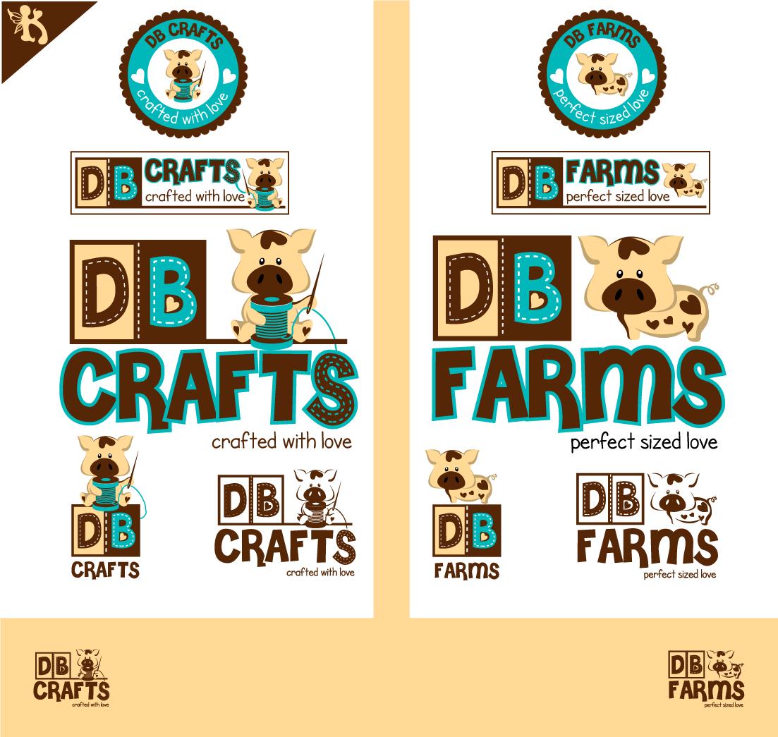 Create the next logo for DB Farms