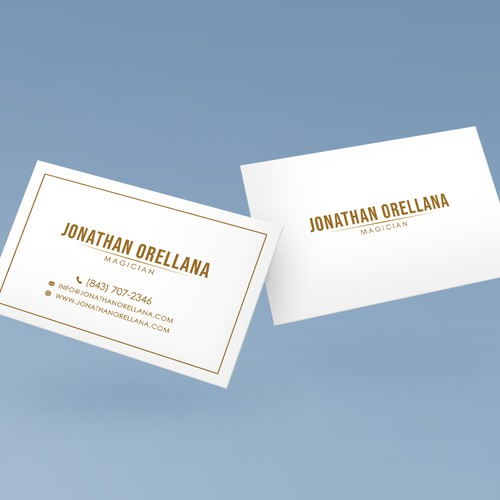 Business card for Magician