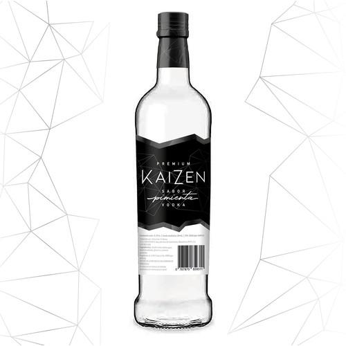 Modern Design for Pepper flavoured Vodka