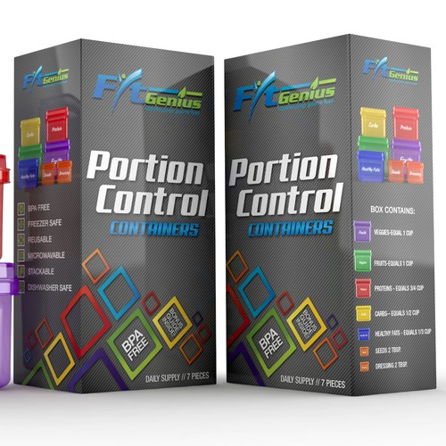 Box design for FitGenius