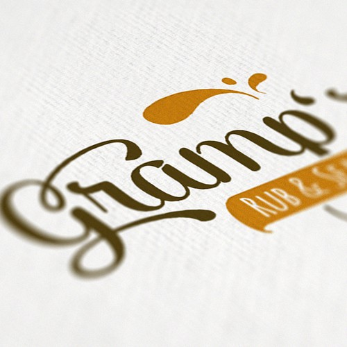 logo concept, food