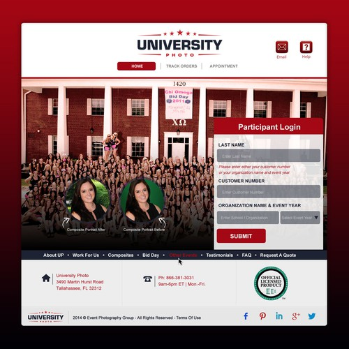 University Photo needs a new web identity