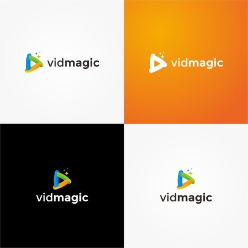 Triangle Play Logo for Vidmagic