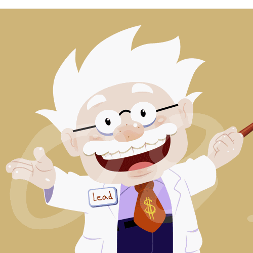 Mad Scientist Blog Header and Social Media Icons Needed