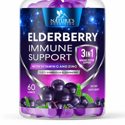 Nature's Elderberry Immune Support