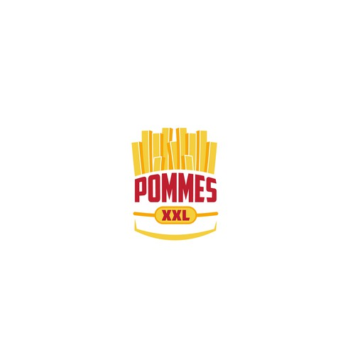 Logo for french fry stand