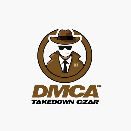 DMCA logo design