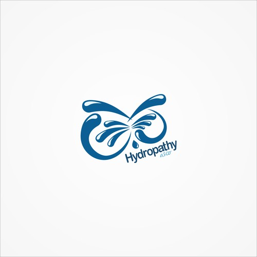 logo concept for hydropathy