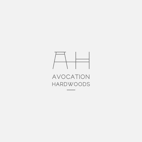 Logo Concept for Woodworking Company