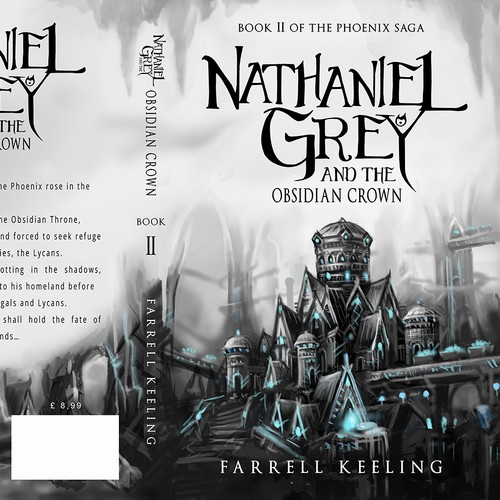The cover of the book by Nathaniel Grey of the author Farrell Keeling.