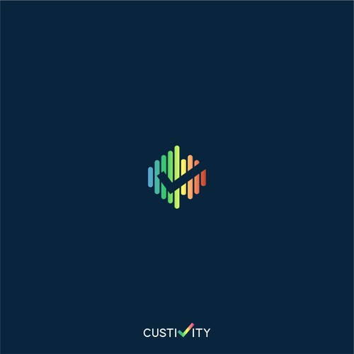 Iconic logo concept for custivity