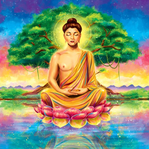 Buddha illustration