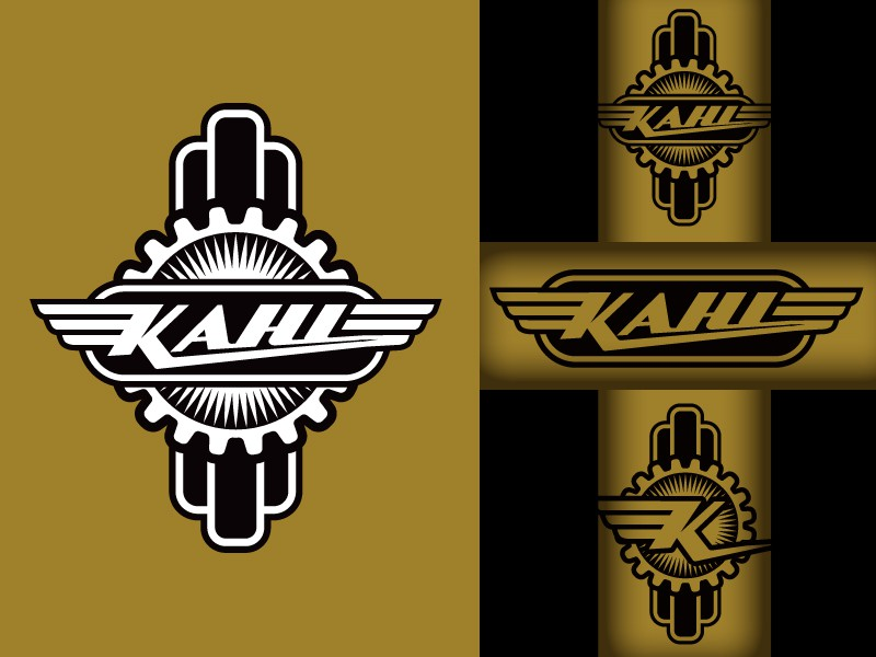 Livery and badge design for Kahl Bicycles