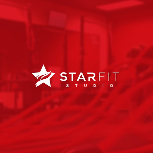 "Logo design for ""StarFit Studio"""