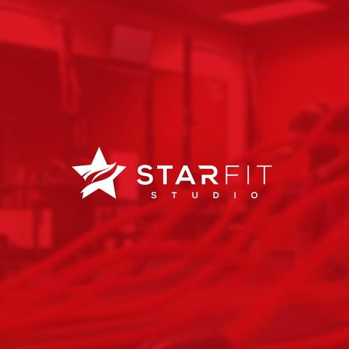 "Logo design for ""StarFit Studio"""