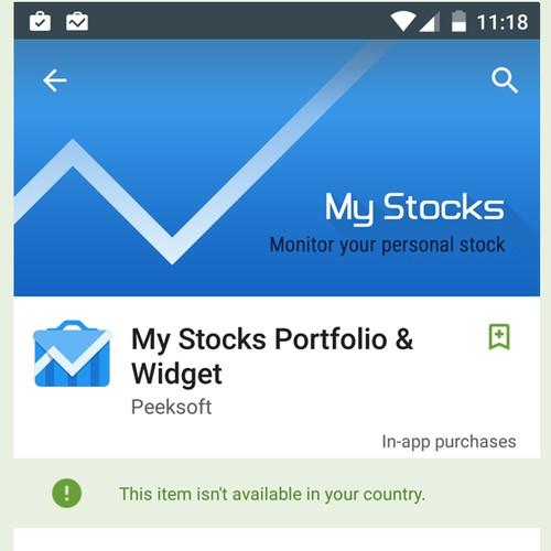 MyStocks App Icon