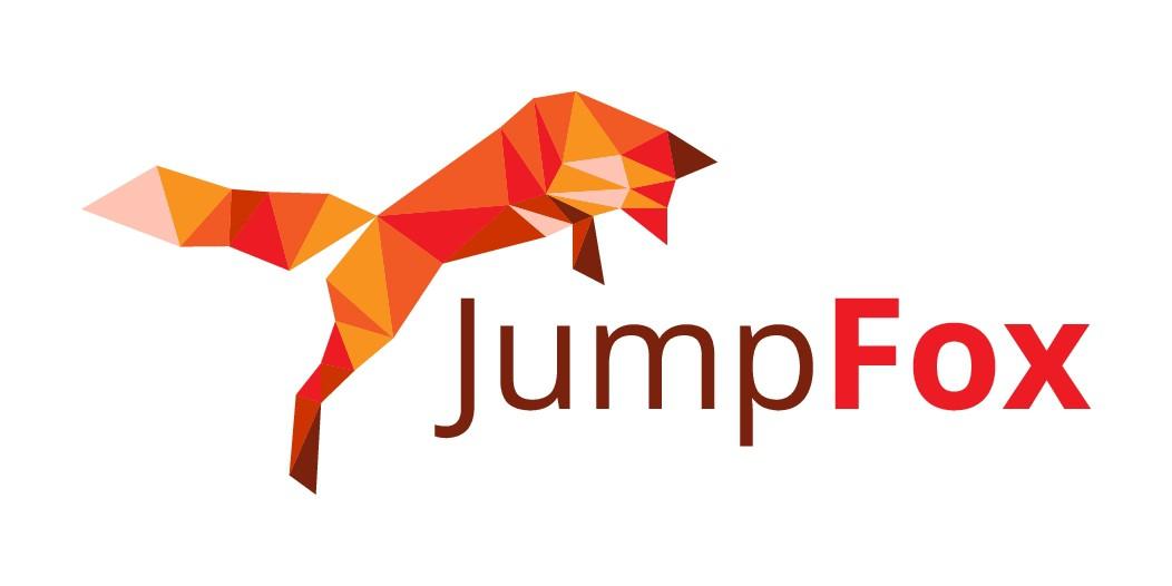 Create kid-friendly, geometric-oriented fox logo
