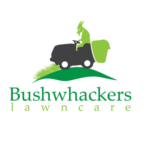 Create a killer logo for an up and coming lawn care company