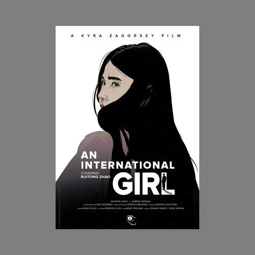 An International Girl.