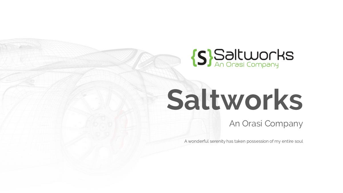 Saltworks PPT Template