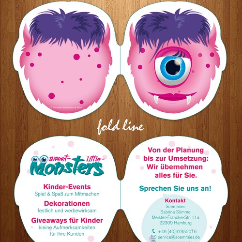Brochure kindergarden design