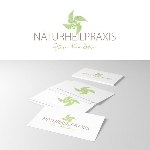 logo für Naturheilpraxis für Kinder