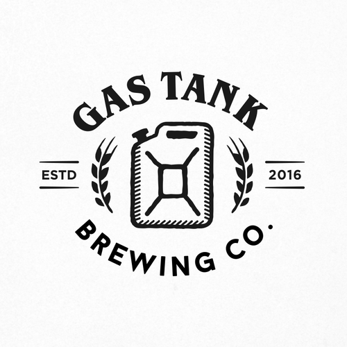 Logo for Gas Tank Brewery.