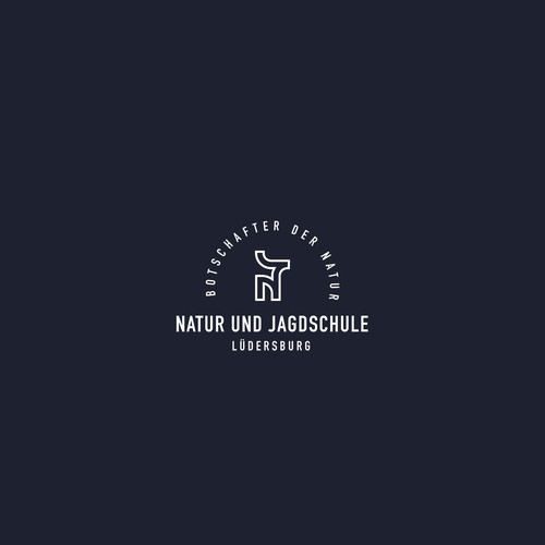 Logo design for Nature and Hunting school