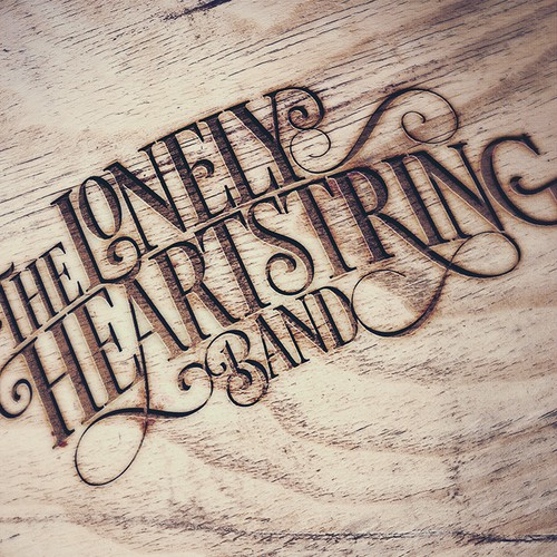 Band logo for The Lonely Heartstring Band