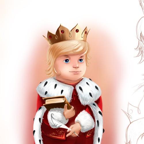 Create unique children's educational characters