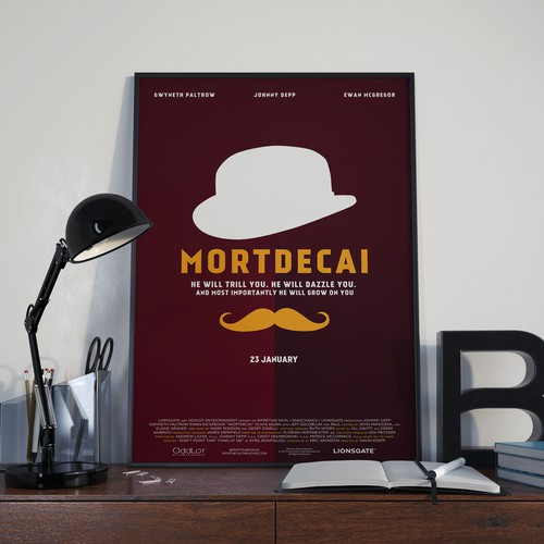 Mortdecai poster