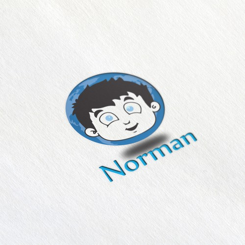 Norman logo for browser