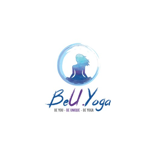Logo for international Yoga teacher..