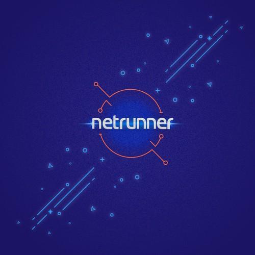 Netrunner wallpaper design