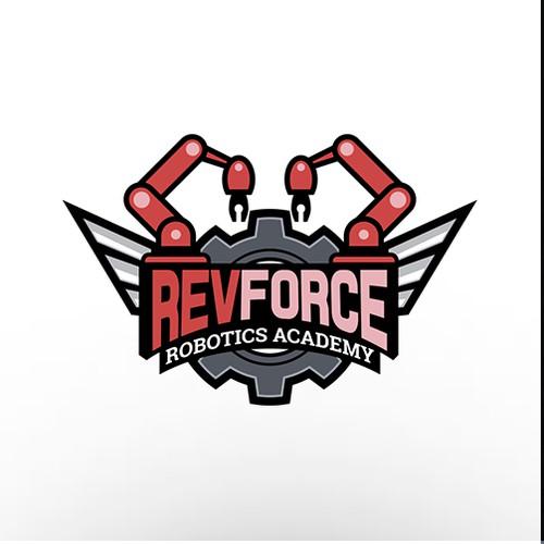 Logo entry for a robotics academy