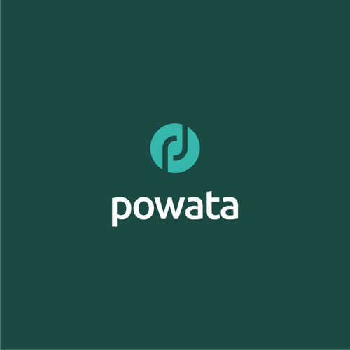 Purposeful logo for business app: Powata
