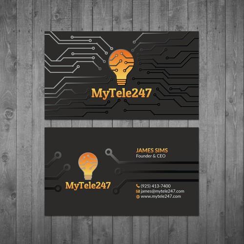 MyTele247 Business Cards