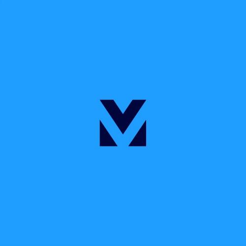 Letter V M logo design concepts