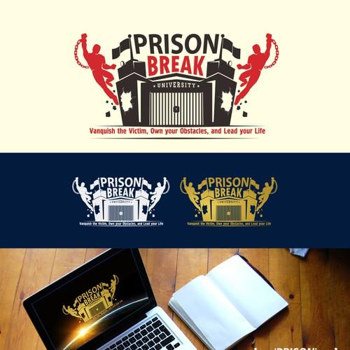 logo concept for Prison Break University