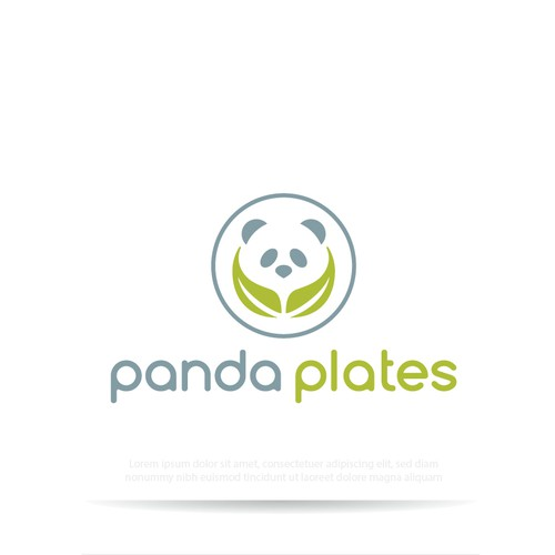 Eco-friendly logo for food business