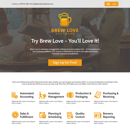 Brew Love - Software