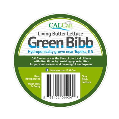 Hydroponic Produce Label