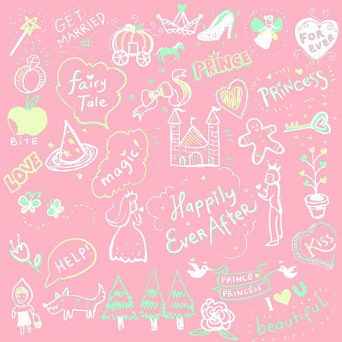 Fairy Tale Cute Stickers