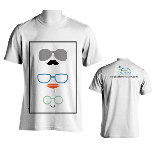 Family T-shirt for spectacles company