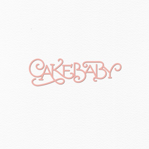 Simple unique bold logo for Cake Baby