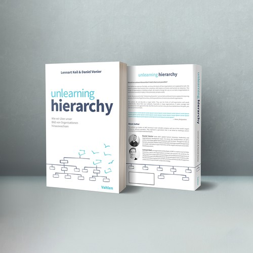 Design a simple but powerful cover for a provocative business book