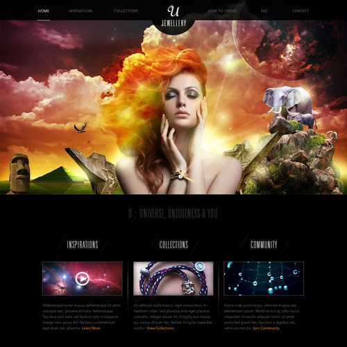 Help U, U jewellery  with a new website design
